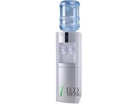 Кулер для воды напольный с компрессорным охлаждением Ecotronic H1-L white-silver