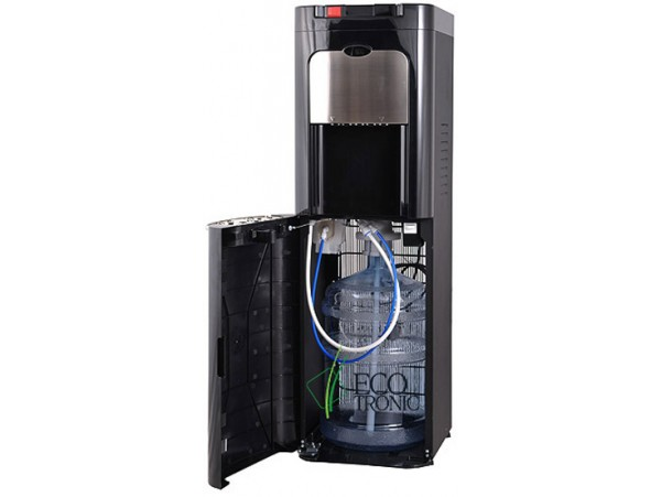 Кулер для воды напольный с нижней загрузкой Ecotronic C8-LX black