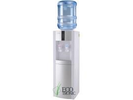 Кулер для воды напольный с холодильником Ecotronic H1-LF white-silver