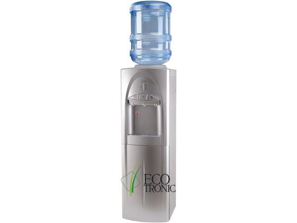 Кулер для воды напольный с электронным охлаждением Ecotronic C4-LCE Silver