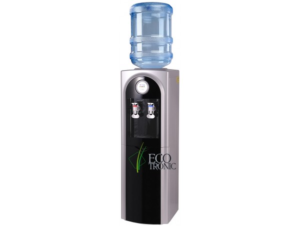 Кулер для воды напольный с холодильником Ecotronic C21-LF black