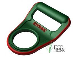 Ручка для бутылей Ecotronic зеленая (изогнутая)