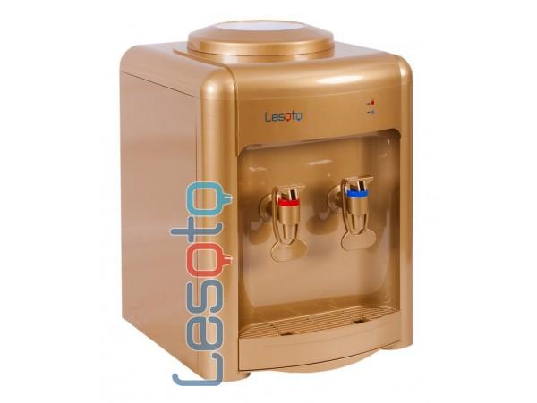 Кулер для воды настольный с электронным охлаждением  LESOTO 36 TD gold