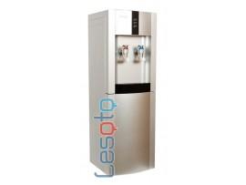 Кулер для воды напольный с электронным охлаждением  LESOTO 16 LD/E silver-black