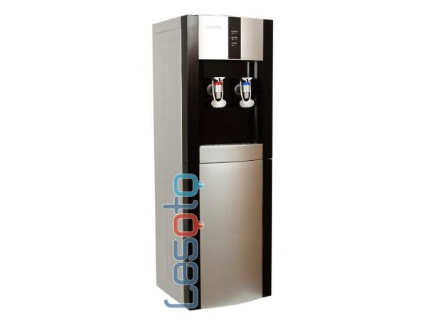 Кулер для воды напольный с электронным охлаждением LESOTO 16 LD/E black-silver