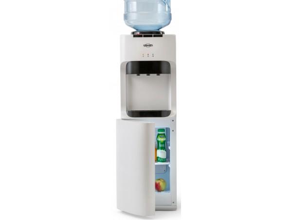 Кулер для воды напольный с холодильником VATTEN V45WKB